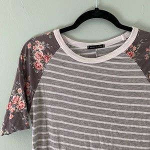 Sweet Claire Floral Tee